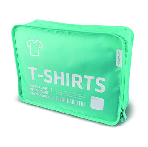 T-SHIRTS PACKING CUBE - ALIFE DESIGN (BLUE)