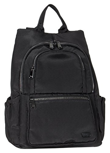 Lug Women'S Hatchback Mini Backpack, Brushed Black, One Size