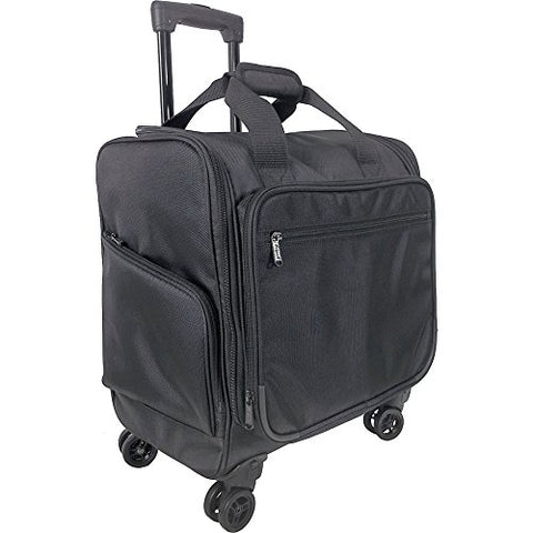 Netpack Travel Wheeled Underseat Tote (Black)