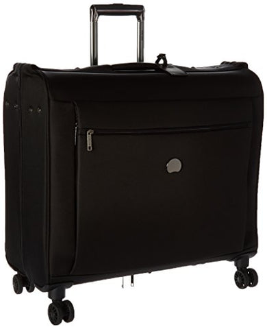 Delsey Luggage Montmartre+ 4 Wheel Spinner Garment Bag, Black