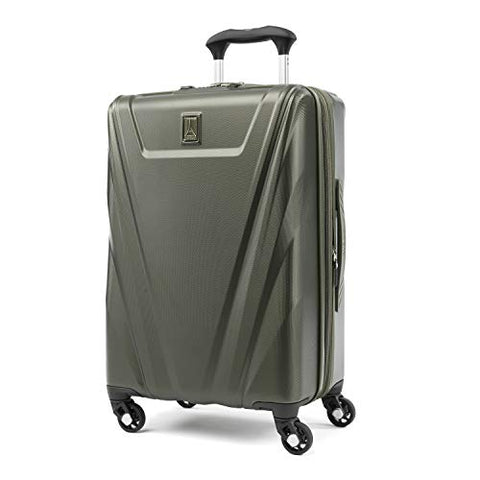 Travelpro Maxlite 5 Expandable Carry-On Spinner Hardside Luggage, Slate Green