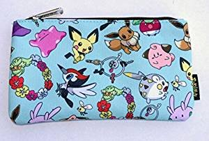 Loungefly Pokemon Cute Character AOP Pencil Case