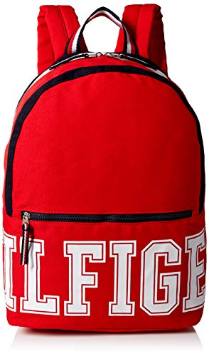 Tommy Hilfiger Backpack Patriot Colorblock Canvas, apple Red