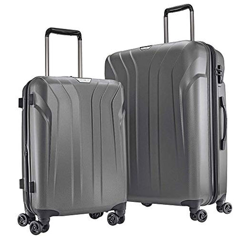 Samsonite Cruise PC-Lite Hardside 2 Piece Set Charcoal