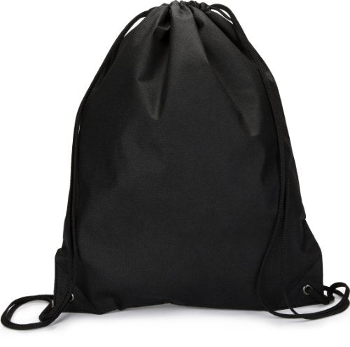 Zuzify Non-Woven Cinchsack Drawstring Backpack. Fe0100 Os Black