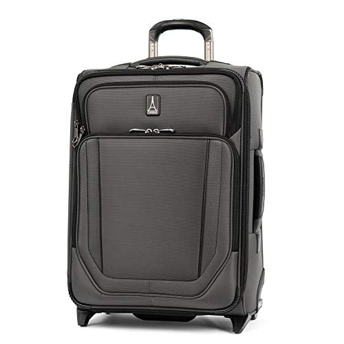 Travelpro Crew Versapack Max Carry-on Exp Rollaboard, Titanium Grey