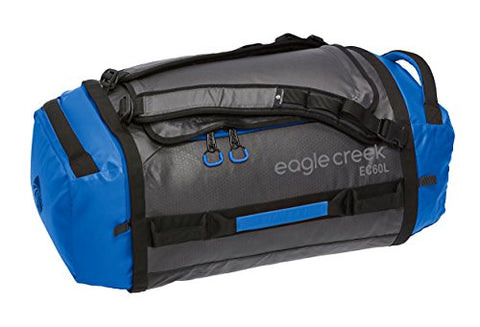 Eagle Creek Cargo Hauler Duffel, 60L, Blue/Asphalt