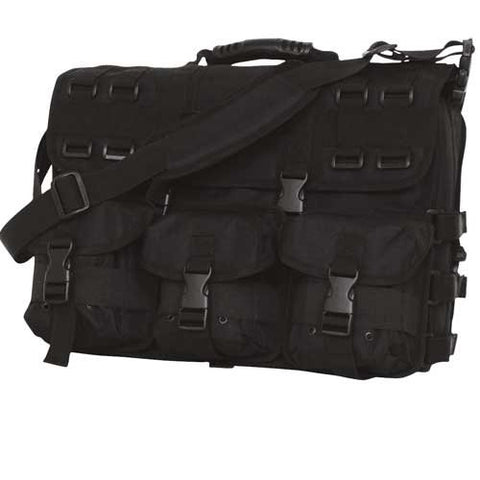 Fox Outdoor Products Tactical Field Briefcase, Black