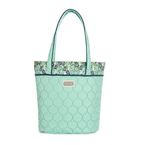Cinda B. Women'S Essential Travel Tote, Purely Peacock, One Size
