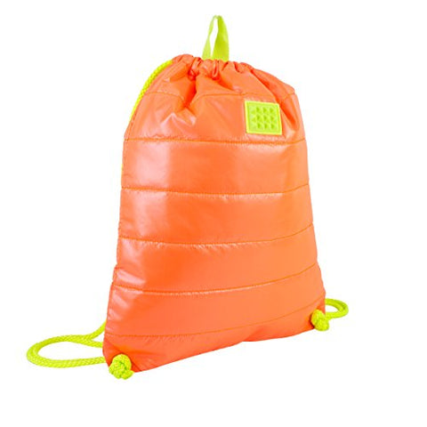 Fuel Ultra-lite Drawstring Sackpack, Neon Orange