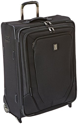 Travelpro Crew 10 26 Inch Expandable Rollaboard Suiter, Black, One Size
