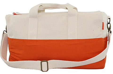 CB Station Color Block Duffel (Orange)