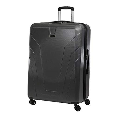 Samsonite Frontier Spinner Carry-On Luggage Large Black Suitcase