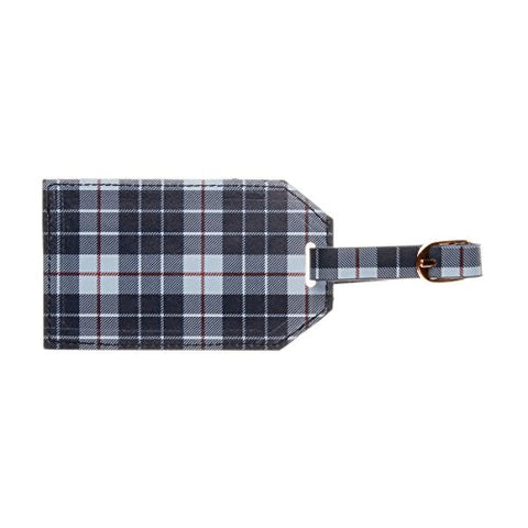 C.R. Gibson Luggage Tag, Plaid