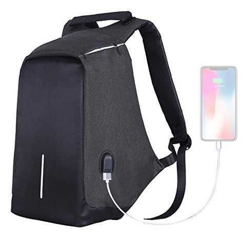 Yesurprise Laptop Backpack Travel Business Anti-Theft Lightweight For Men & Women With Removable