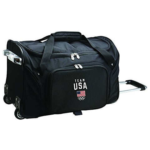 Team USA Olympics Wheeled Duffle Bag, 22-inches