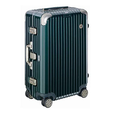 RIMOWA Lufthansa Elegance Collection suitcase 49L Racing green