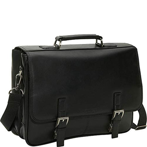 Reaction Kenneth Cole A Brief History Leather Flapover Portfolio