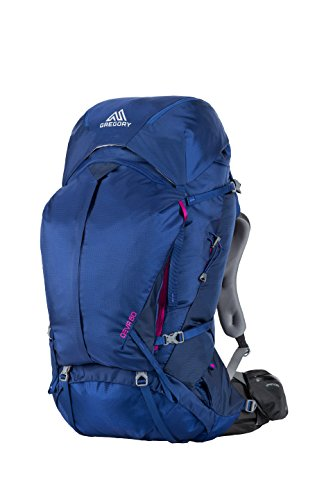 Gregory Mountain Products Deva 60 Liter Women's Multi Day Hiking Backpack | Backpacking, Camping, Travel | Rain Cover Included, Hydration Sleeve and Daypack Included, Durable Straps and Hipbelt | Premium Comfort on the Trail