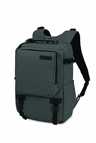Pacsafe Camsafe Z16 Anti-Theft Camera And 13-Inch Laptop Backpack, Charcoal
