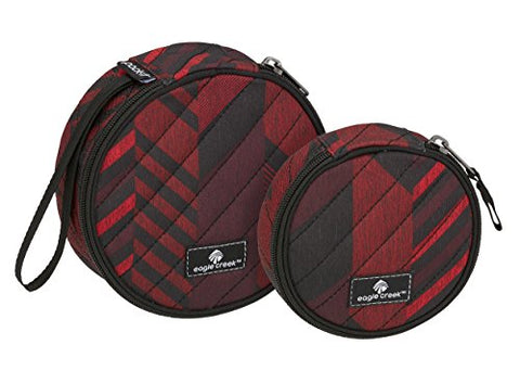 Eagle Creek Pack-it Original Quilted Circlet Set-2pc Set, TRIBAL IRREGULARITY RED