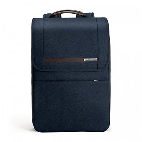 Briggs & Riley Kinzie Street Flapover Expandable Backpack, Navy