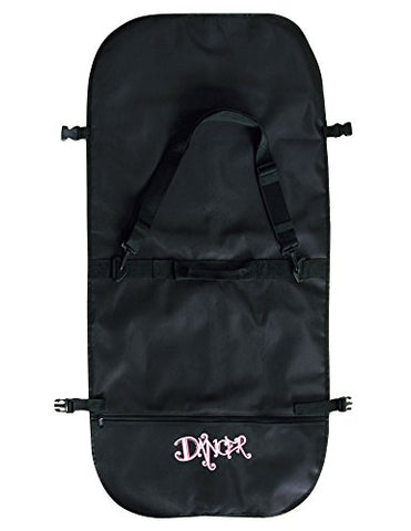 Dansbagz By Danshuz Girl'S Bling Garment Bag, Black, Os