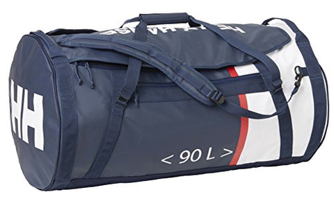 Helly Hansen Duffel 2 Water Resistant Packable Bag with Optional Backpack Straps, 90-liter (Large), 692 Evening Blue