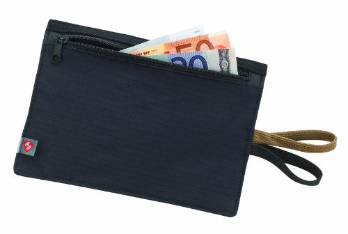 Lewis N. Clark RFID-Blocking Hidden Travel Belt Wallet, Black, One Size