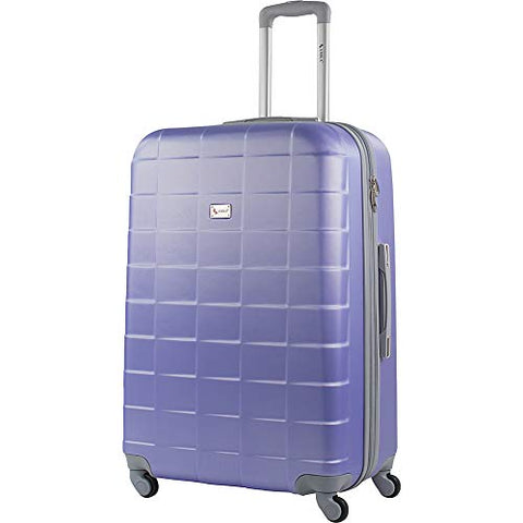 "Amka Palette 28"" Hardside Expandable Checked Spinner Luggage (Gravender)"