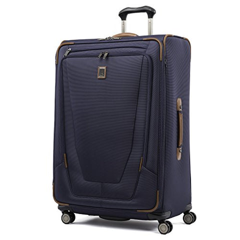 "Travelpro Luggage Crew 11 29"" Expandable Spinner Suitcase with Suiter, Patriot Blue"