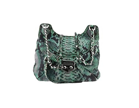 Aimee Kestenberg Pebble Leather Crossbody Marlee Jade Snake New A275857