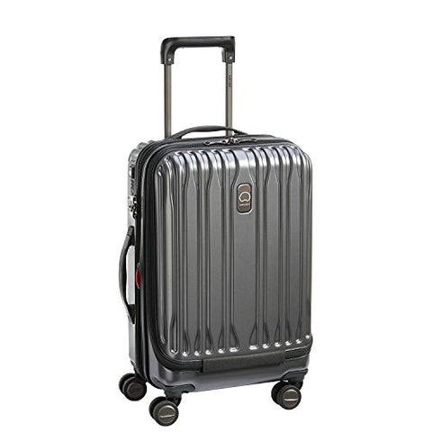 Delsey Unisex Chromium Lite International Expandable Spinner Carry-On Graphite One Size