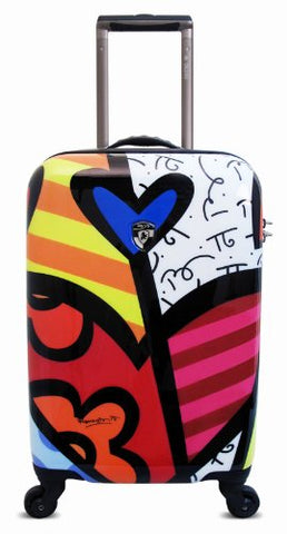 Heys Usa Luggage Britto New Day 22 Inch Hardside Carry-On Spinner, New Day, 22 Inch