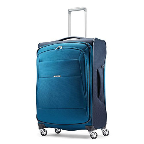 "Samsonite Eco-Nu 25"" Expandable Spinner Pacific Blue/Navy"