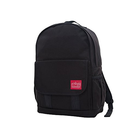 Manhattan Portage Washington Heights Backpack, Black, One Size