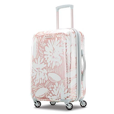 American Tourister Carry-On, Ascending Gardens Rose Gold