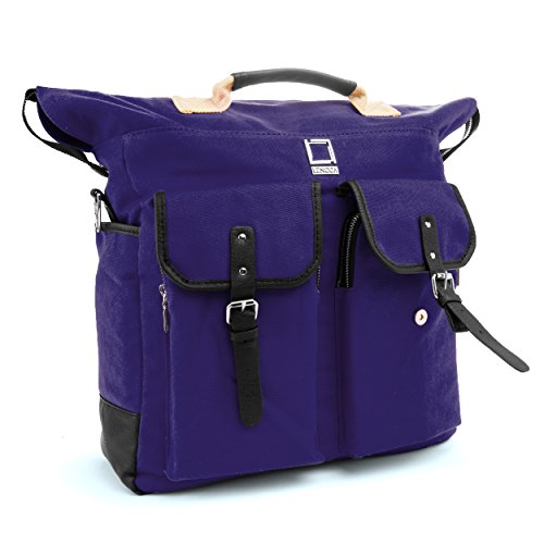 "Blue Lencca Mini Phlox Backpack Bag for Apple iPad & iPad Air 9.7"" Tablets"