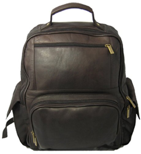 David King & Co. Large Computer Backpack, Cafe, One Size