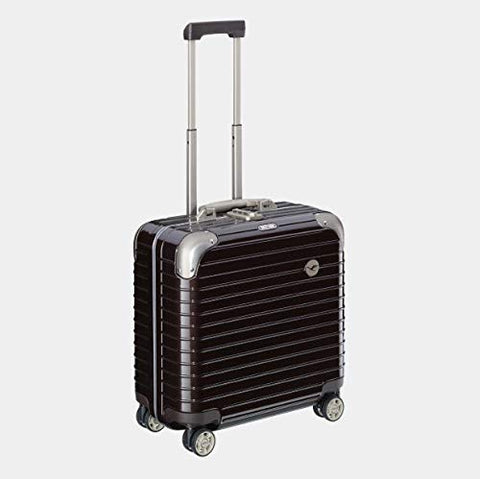 RIMOWA Lufthansa Elegance collection bushiness trolley 27L Chocolate brown