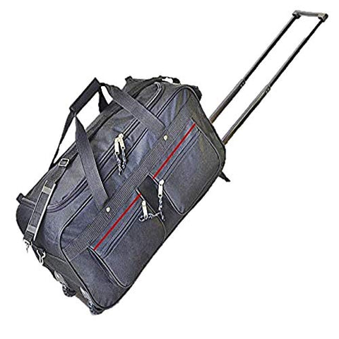Explorer Luggage Travel Gear Duffel Bag, Black, 22""