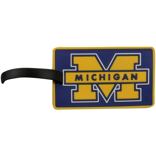 Michigan Rubber Bag Tag