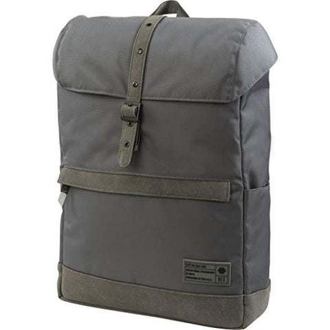 Hex Echelon Alliance Backpack Grey Tech Suede