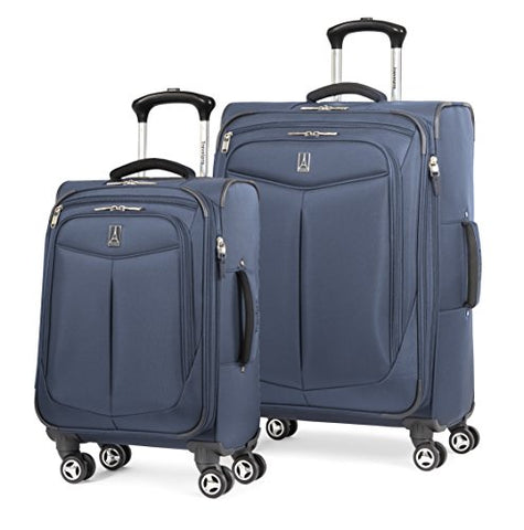 Travelpro Inflight 2 Piece Spinner Luggage Set, Navy