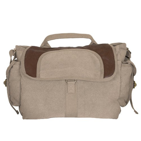 Fox Outdoor Products Retro Bavarian Alps Messenger Bag, Khaki