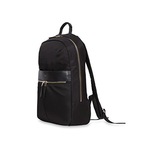 "Knomo Luggage Women'S Mayfair Nylon Beauchamp 14"" Backpack, Black, One Size"