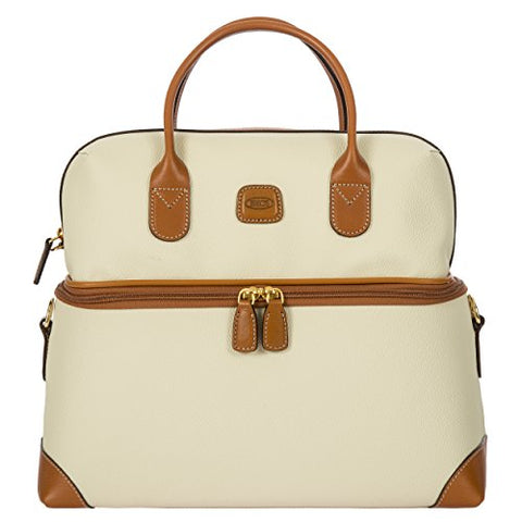 Bric's USA Luggage Model: FIRENZE |Size: tuscan train case | Color: CREAM