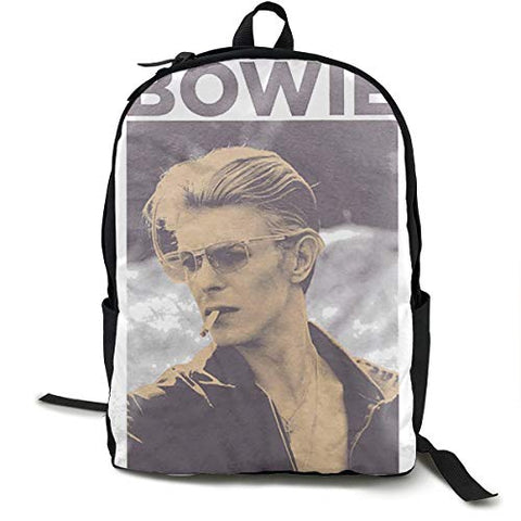 Shahuishahuiewdf David Bowie Men's Smoking Small Backpack