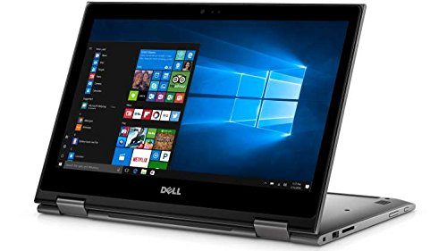 Dell 5000 2-in-1 Convertible Inspiron 13.3 inch Full HD Touchscreen Backlit Keyboard Flagship Laptop PC, Intel Core i7-6500U Dual-Core, 8GB DDR4, 256GB SSD, Windows 10 (Gray)
