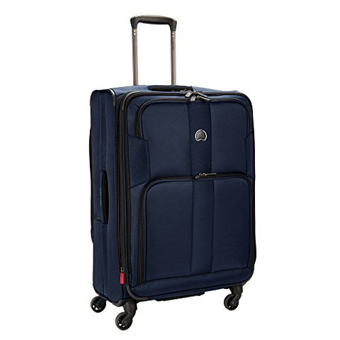 Delsey Sky Max 25-Inch Expandable Spinner Upright (Blue)